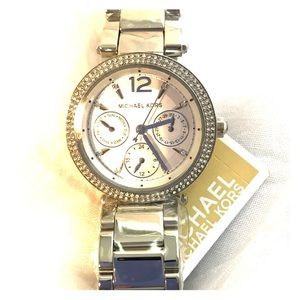 Sliver Michael Kors Women's Watch